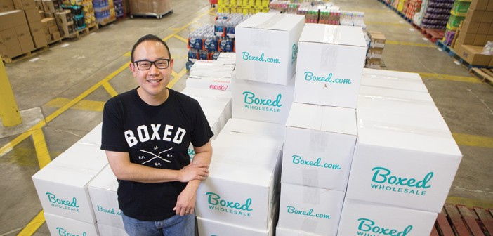 Chieh Huang is the CEO of Boxed.com.