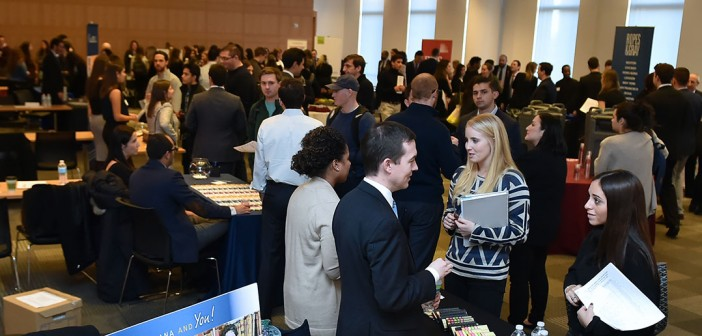 Fordham Network Effect in Action; Employers Meet Fordham 1Ls