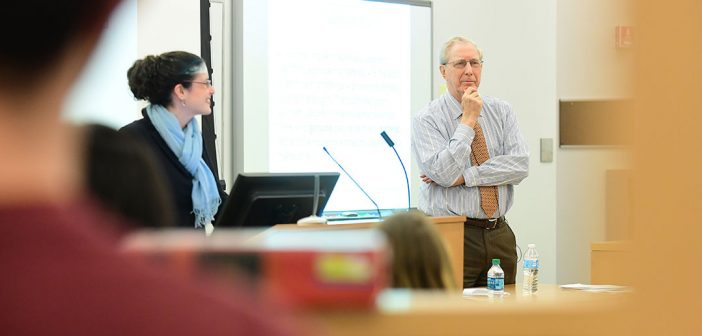 Second Circuit Court Visits Fordham Law