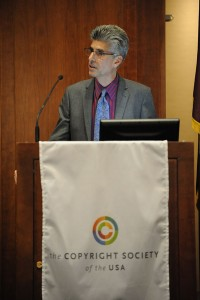 Eric Schwartz, president of The Copyright Society of the USA. Photo by Peter D'Amato.