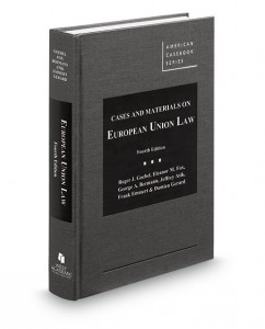 Cases and Materials on European Union Law