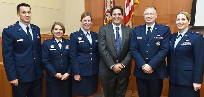 U.S. Air Force JAG Corps members