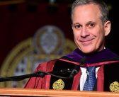 NY AG Eric Schneiderman Addresses Fordham Law Graduates