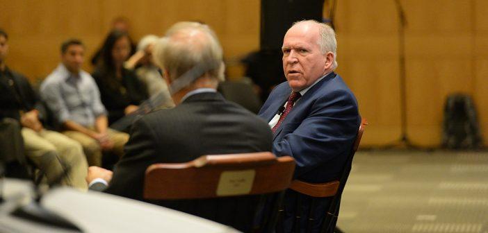Former CIA Director Brennan Introduced as CNS Senior Fellow