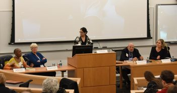 "Panelists for ""Blood in the Water: The Attica Prison Uprising of 1971 and Its Legacy"""