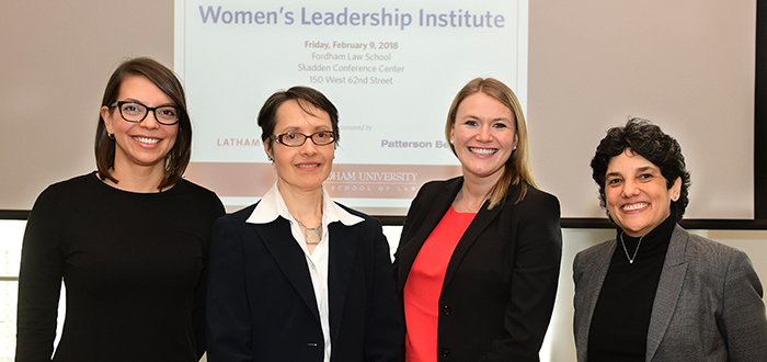 At Inaugural Women's Leadership Institute, Women Speak Up