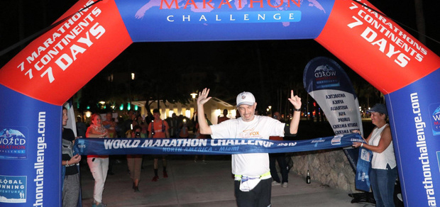 7 Marathons on 7 Continents in 7 Days: 1 Epic Achievement for Bret Parker '93