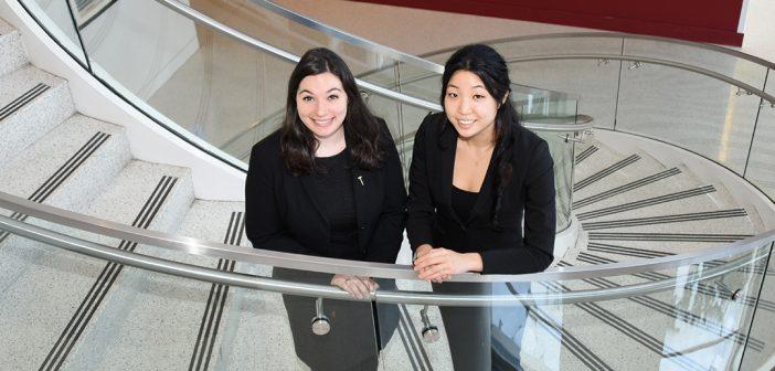 Kara Krakower and Yena Hong