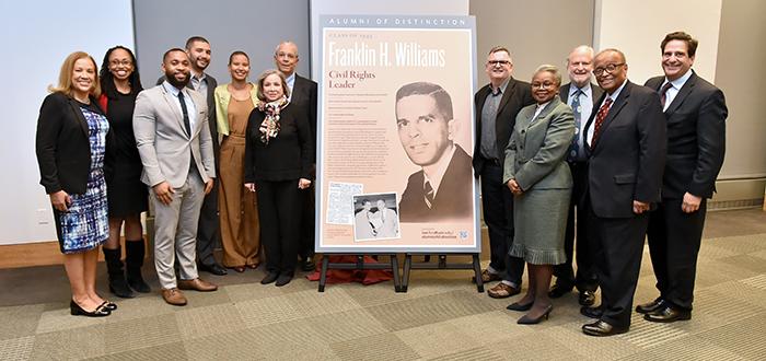 Alumni of Distinction Ceremony honoring Franklin Williams '45