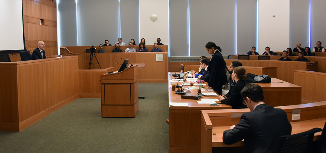 Students Participate in Medical Malpractice Mock Trial