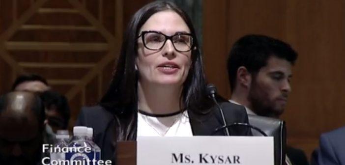 Rebecca Kysar Delivers Senate Testimony on International Tax