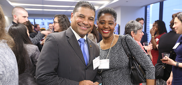 Sergio Villaverde '97 and Rhonda Cunningham Holmes '97