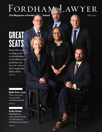 Fordham Lawyer magazine fall 2017