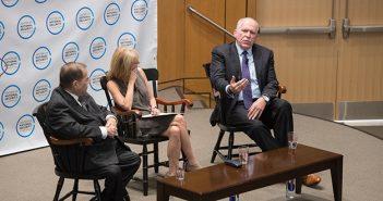 Jerrold Nadler, Karen Greenberg, and John Brennan