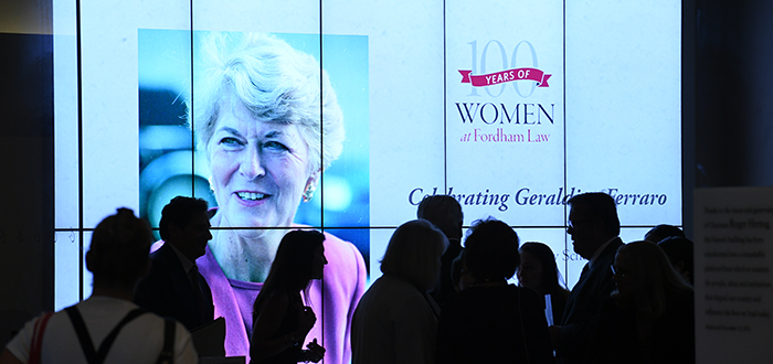 Fordham Law Kicks Off 100 Years of Women