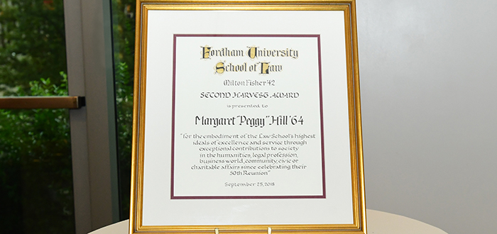Margaret Peggy Hill Golden Rams 2018
