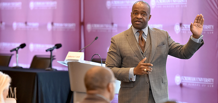 DeMaurice Smith, executive director of the NFL Players Association