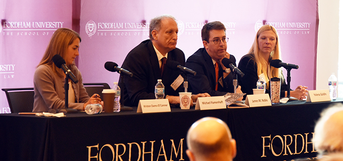Kristen Dams-O'Conner, Michael Flomenhaft, James M. Noble, and Yelena Goldin