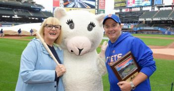 The Loukoumi Foundation was designated the nonprofit of the game at the Mets' Citifield on September 9.