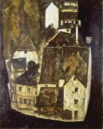 Dead City III by Egon Schiele
