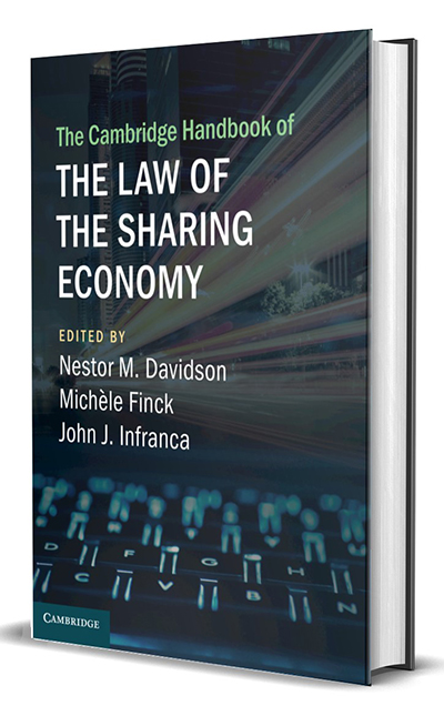 The Cambridge Handbook of the Law of the Sharing Economy -- Nestor Davidson