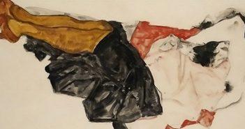 Egon Schiele's Woman Hiding Her Face