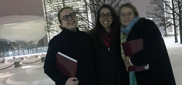 Sam Zuckerman, Rachel Smith, and Daria Schieferstein