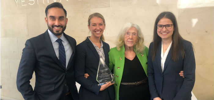 Fordham's Moot Court Team Victories