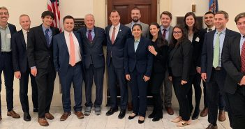 Clinic Visits Washington to Advocate for Reforms to Strengthen Democracy