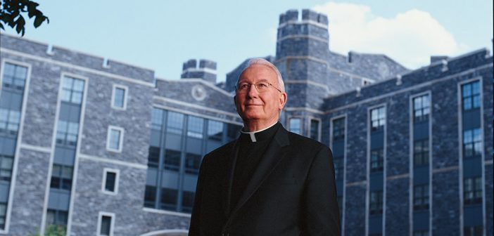 Fordham Law Mourns the Passing of Father O'Hare, a Visionary Leader