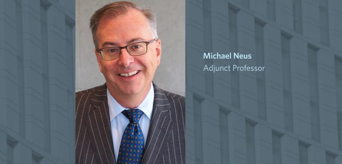 Michael Neus Named Private Funds Attorney Fellow, Investment Adviser Regulation Office