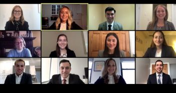 Fordham Law's Dispute Resolution Society's ABA competition team