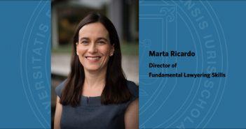 Marta Ricardo Appointed Director of Fundamental Lawyering Skills